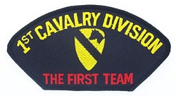 1st Cavalry Division Patches